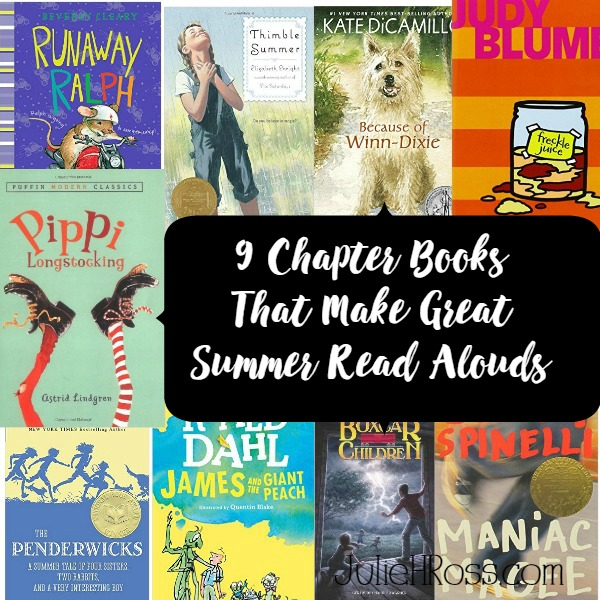 9 Chapter Books That Make Great Summer Read Alouds